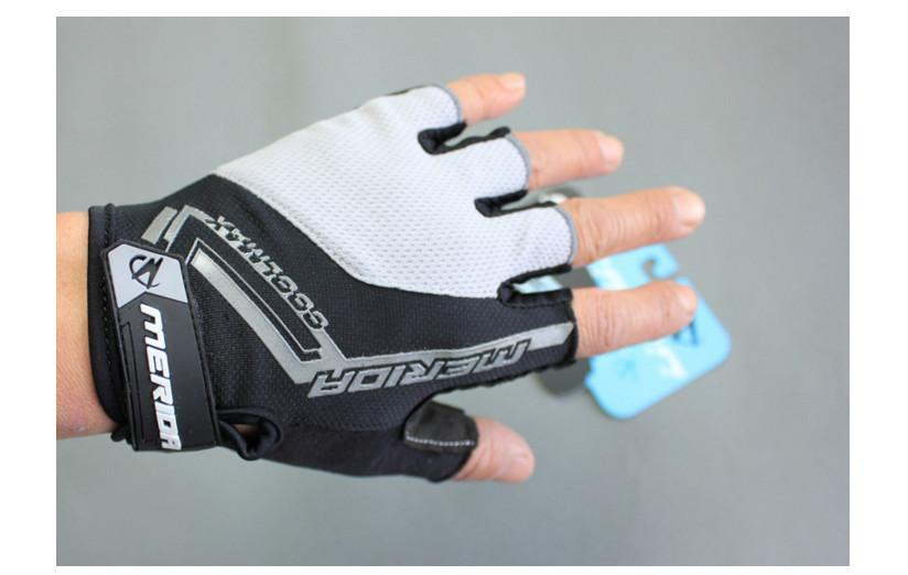 Men Women Cycling Bike Bicycle Ultra-breathable Shockproof Half Finger Glove Black Green Blue Red and Yellow OUT037