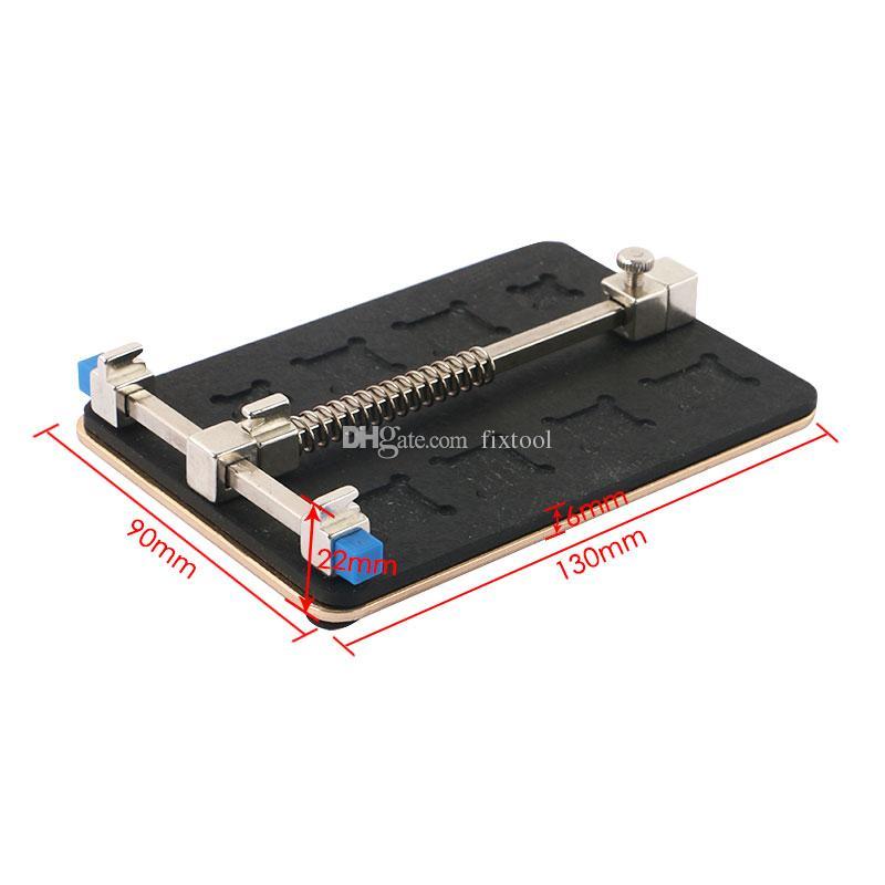 Edelstahl Platine PCB Halter Jig Fixture Arbeitsplatz für iPhone 6S 6 Logic Board A8 A9 Chip Repair Tool