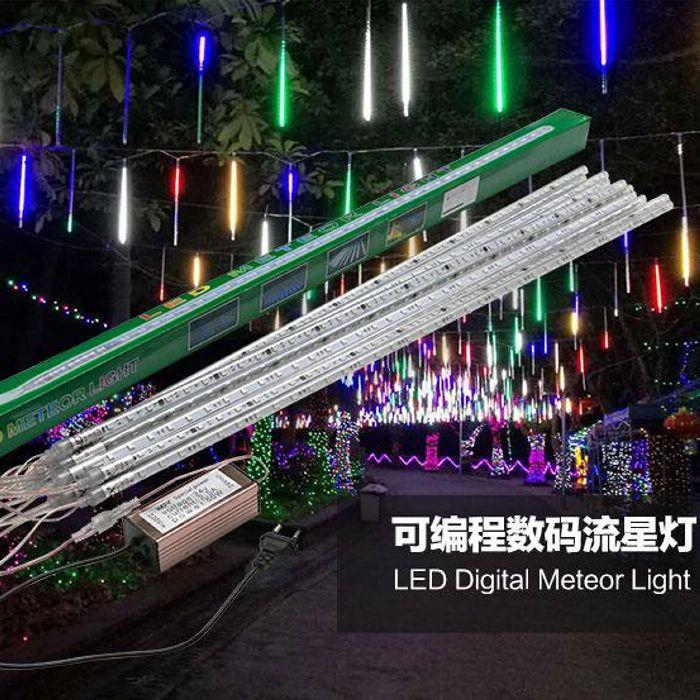 2017new 80cm 72led tube programmable led landscape lighting christmas lights programming meteor shower string light lights on string string lights from