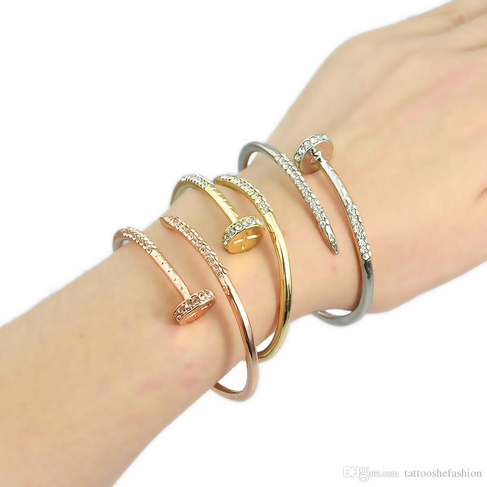 gold bangle kors tone open cuff rose bangles michael