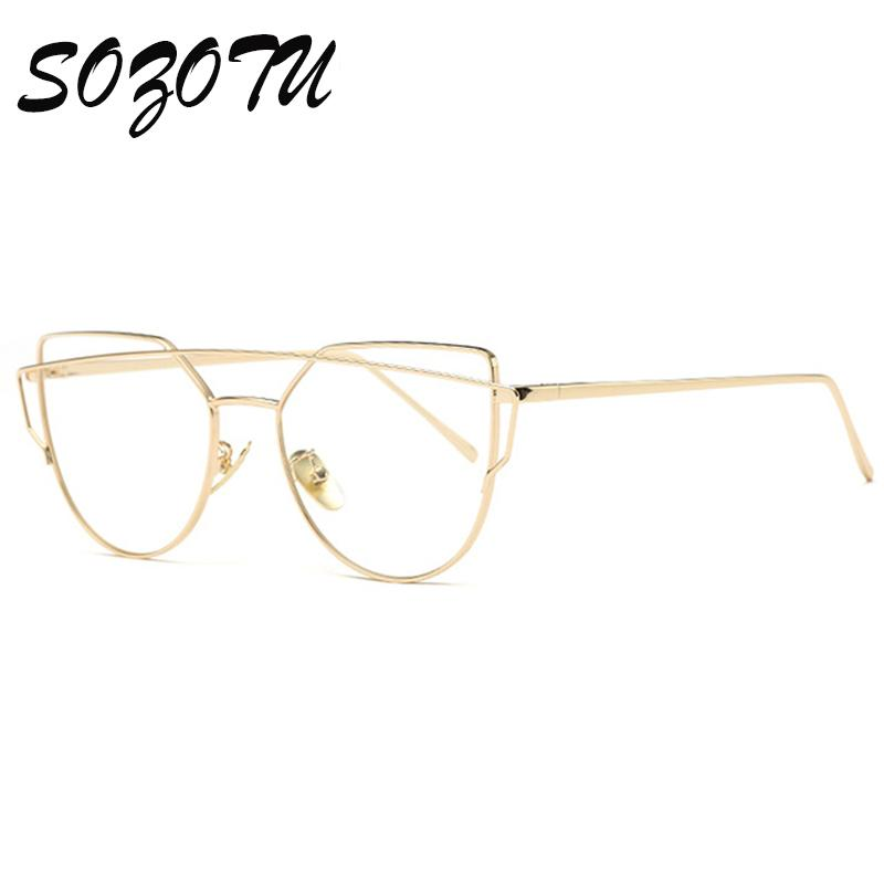 e4d213e59673 2019 Wholesale Fashion Optical Eyeglasses Frame Women Computer Eye Glasses  Myopia Spectacle Frame For Women S Clear Lens Female Oculos YQ187 From  Naixing