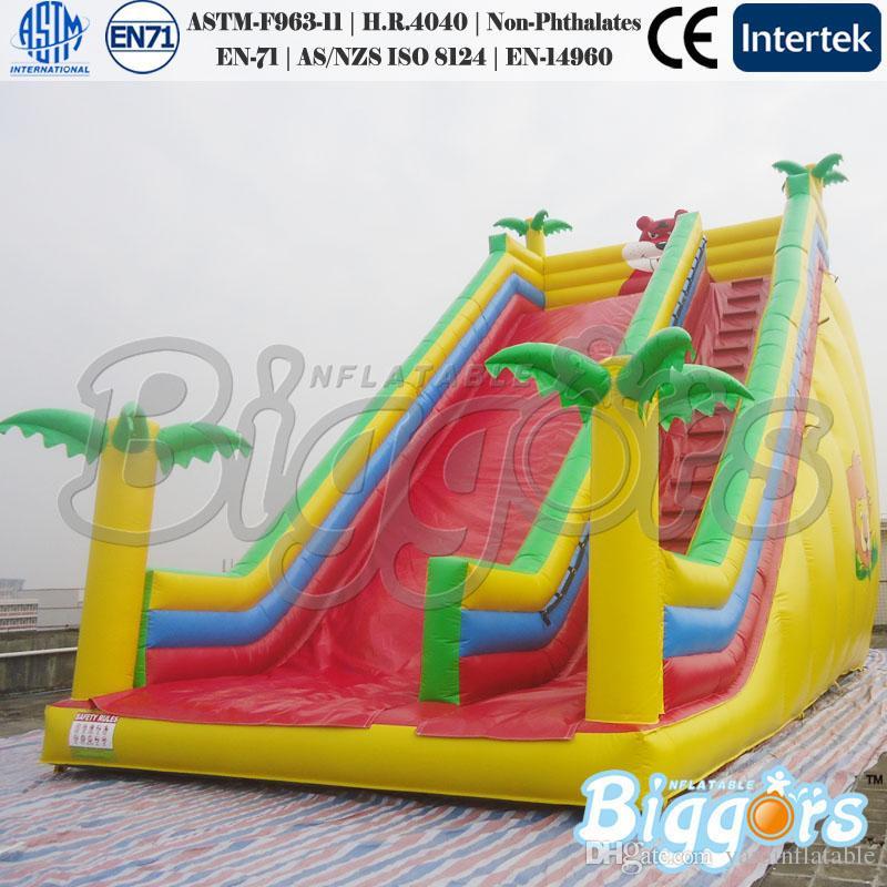 Gewerbe im Freien aufblasbaren Auto Slide Kinder Größe Wasserrutsche Spielzeug zum Verkauf