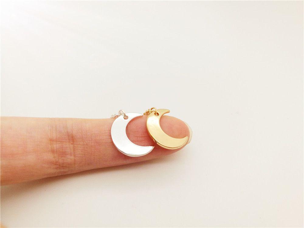 5 STÜCKE-B067 Nette Crescent Moon Armband Einfache Halbmond Armband Galaxy Moon Armbänder Schmuck für Dame Frauen
