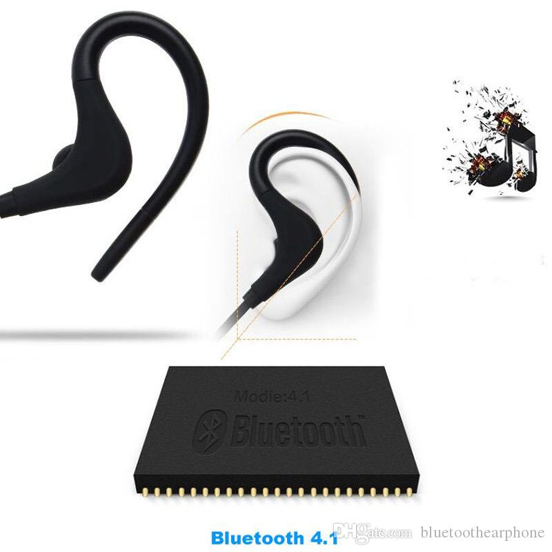 Sports Bluetooth Headset 4.1 Wireless Headphones Earphone Ear Hook Auriculares With Mic For Smartphone xiaomi S8 i7