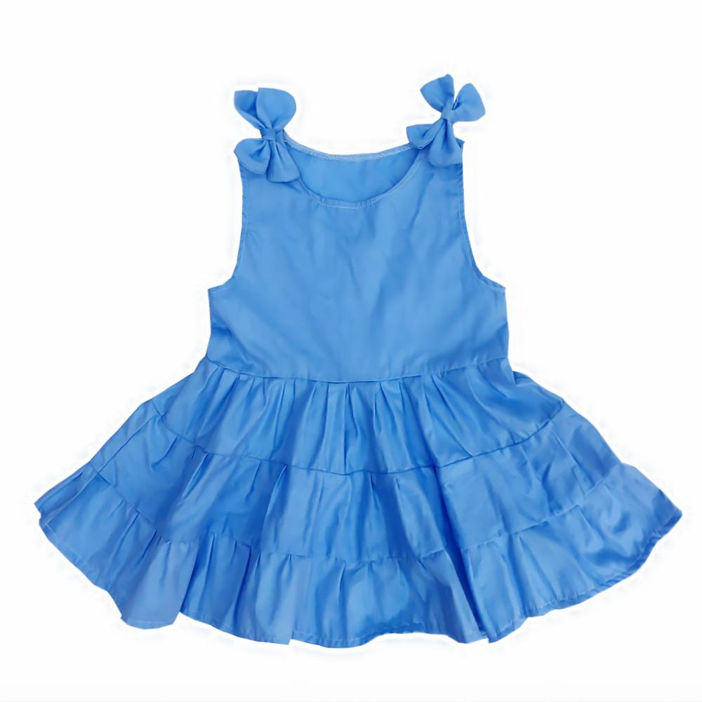 2017 Kseniya Kids 2017 Summer Flower Girls Cotton Dress Baby Girls ...