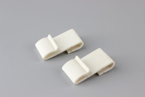 Plastik S tel raf kanca askı şerit bağlantısı sabitleme fasterner