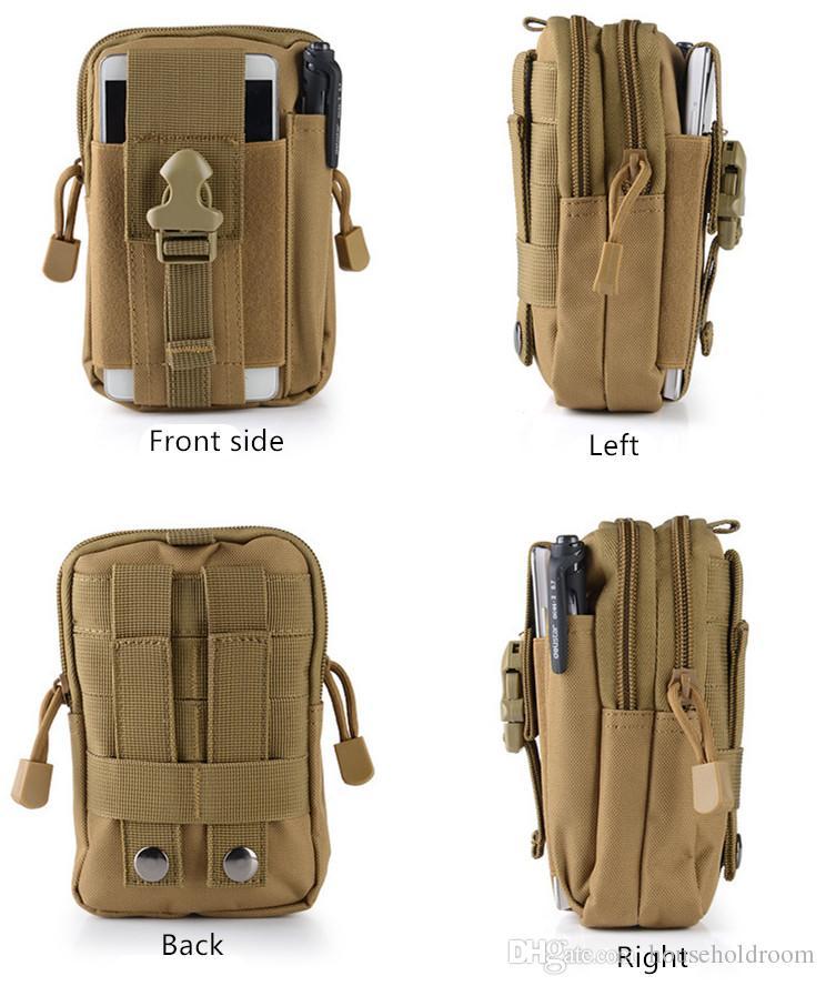 Unisex Multifunktions Camouflage Taille Tasche Waistpacks Sport Camping Wandern Angeln hohe Qualität Outdoor Taschen Befreiung von Porto