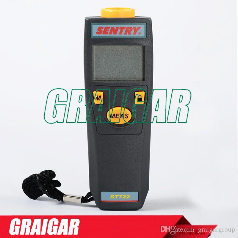 Tacômetro digital SENTRY ST722 sem contato RPM Meter Laser Sighting