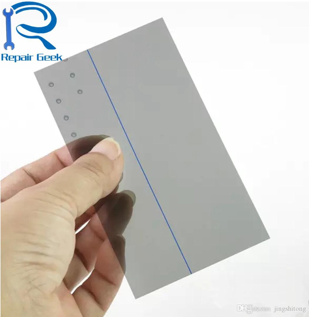 Свет поляризатор поляризованная пленка для Samsung i9100 S2 ЖК-фильтр поляризационная пленка Polaroid