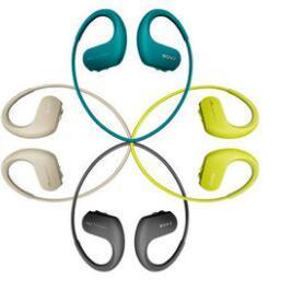 Wholesale- OriginalSONY MP3 Player NW-WS413 waterproof spatter movement  type MP3 swimming Walkman 4GB free shipping