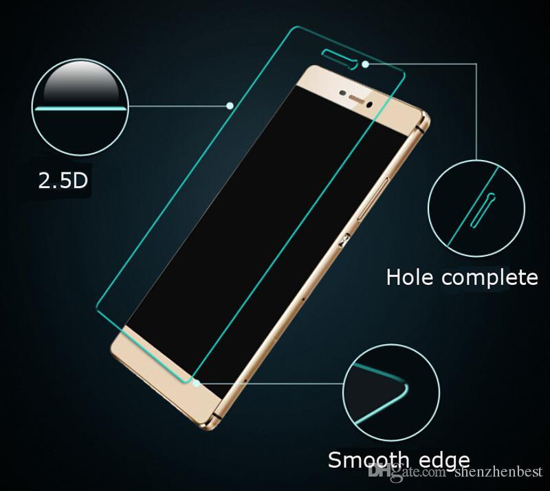 0.3mm Premium Trempé Verre pour Huawei Honor 3C / 3X / 4 / 4C / 4A / 4X / 4Xmini / 6 / 6Plus / 7 Film de protection écran / livraison gratuite