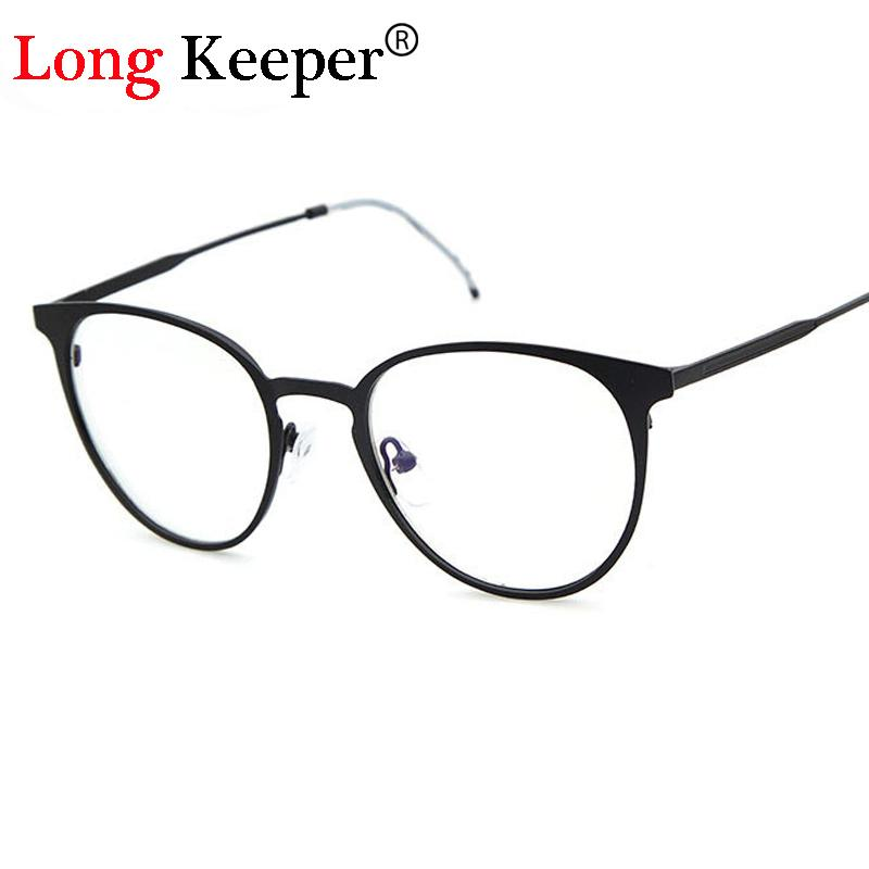 8fbc7fc4825 Wholesale- Long Keeper Retro Round Eyes Glasses Frame Men Women ...