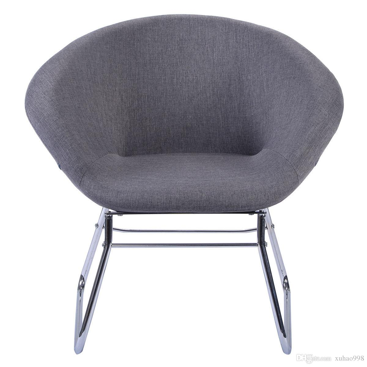 New Modern Gray Accent Chair Leisure Arm Sofa Lounge Living Room Home  Furniture Chair Online With $64.49/Piece On Xuhao998u0027s Store | DHgate.com