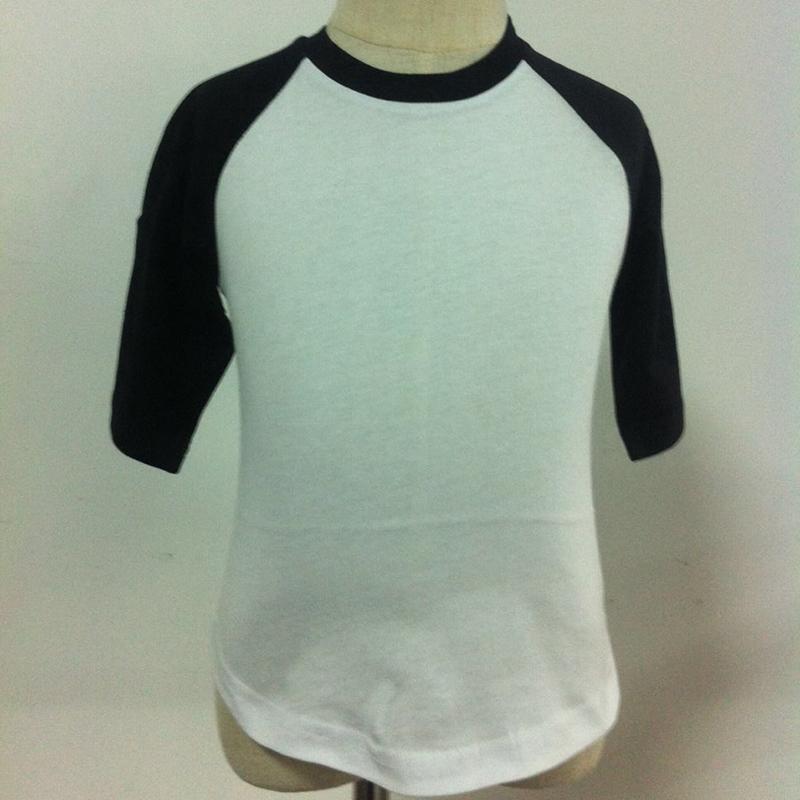 Wholesale Blanks For Vinylembroidery Cotton Raglan Shirts Unique T