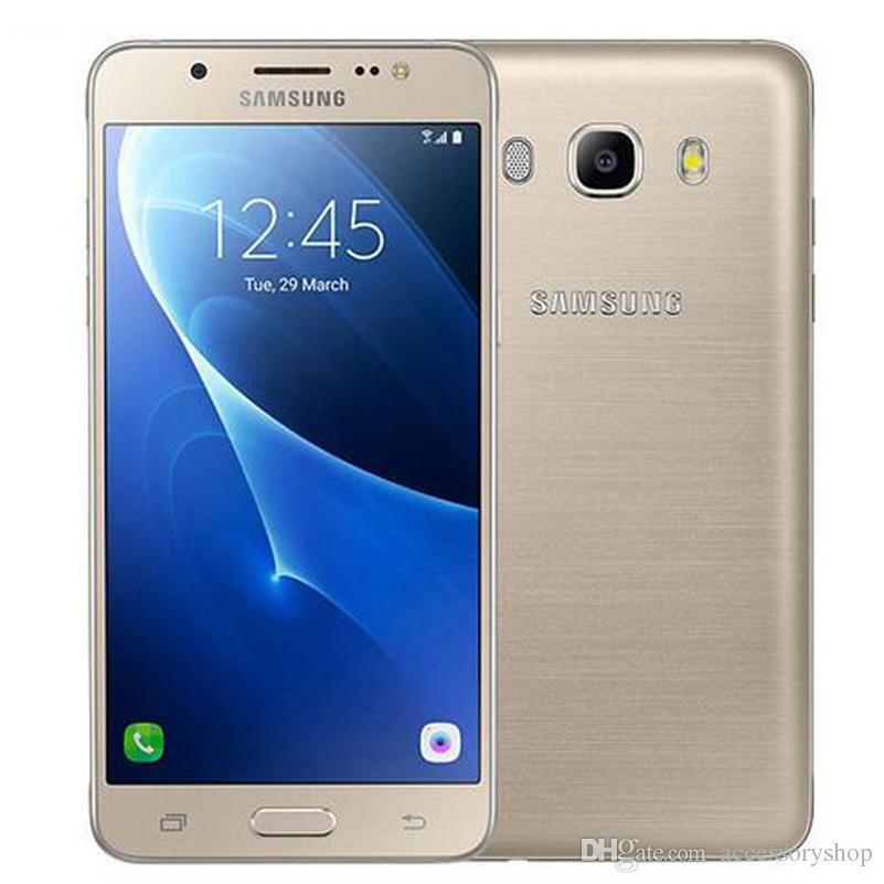 Refurbished Original Samsung Galaxy J5 2016 J5108 Dual Sim 4g Lte 5.2 Inch  Quad Core 16gb Rom 13mp Camera Smart Mobile Phone Dhl 2nd Hand Mobiles 2nd  Hand ...