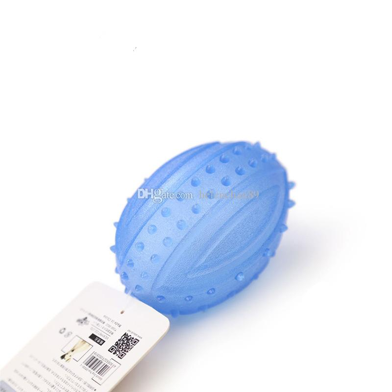 Soft High Quality TPR Rubber LED Flash Pet Dog Cat Grind Teeth Toy Non-toxic Pet Training Chew Toys Dogs Glowing Supplies