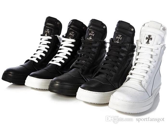 Temor de Dios Zapatilla Militar Sin Caja 2016 Goma Numbuck Niebla Negra Made In Italy botas militares botas altas botas de invierno tamaño 39-45
