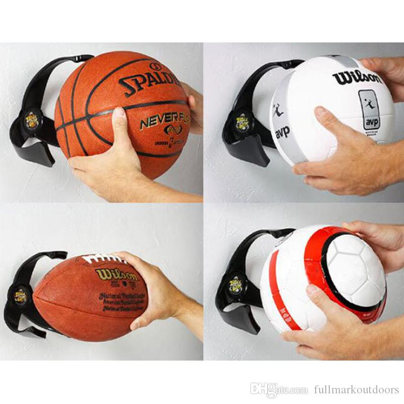 Fashion PC Ball Claw Wall Mount Basketball Holder Soccer Football Volleyball Storage Rack For Home Decor