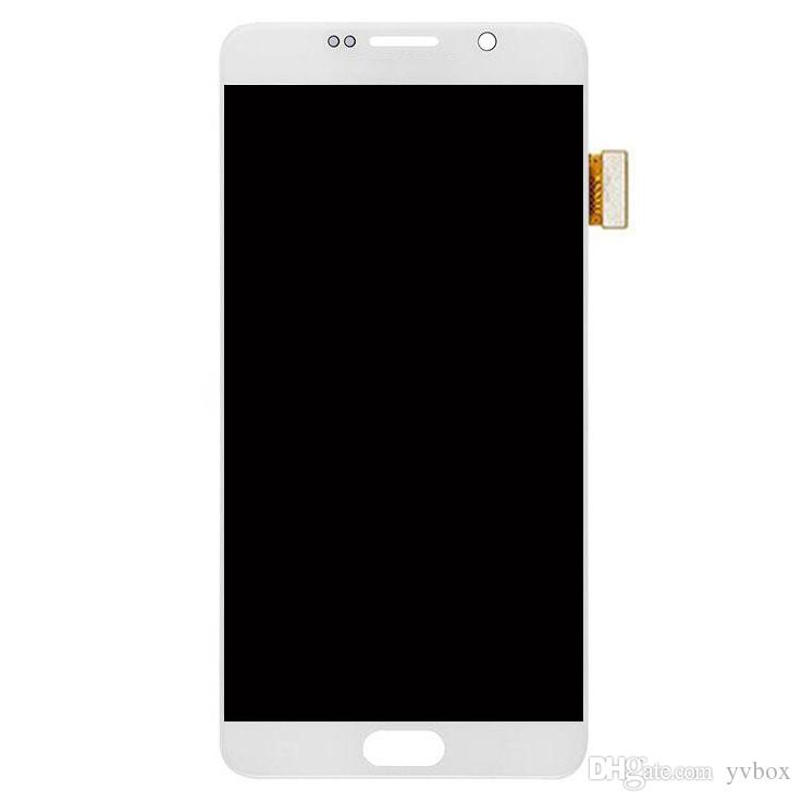 YVBOX B Grade SBI / Dead Pixel Screen For Samsung Galaxy Note 5 N920 All Carriers LCD Display Digitizer Touch Screen Assembly