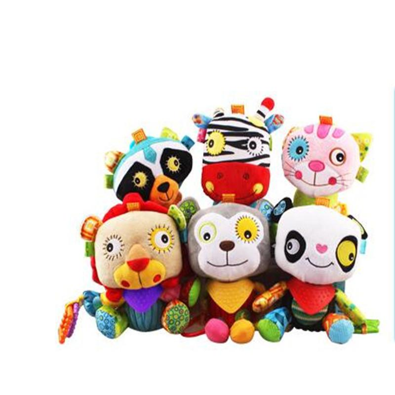 Baby Stuffed Animals Soft Baby Plush Toys 6 12 Months Cute Baby Pacify Doll  Infant Toy Kids Gift UK 2019 From Okbrand cf74e5f97
