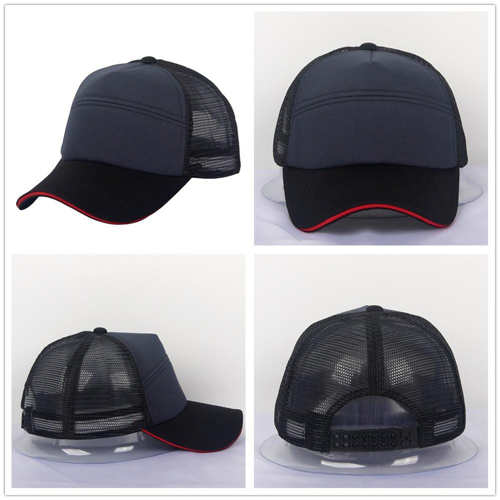 Sandwich Cap Style Baseball Cap Cotton Blank Black Navy Golf Hat Plain 6  Panels Mesh Hat Man Woman Baseball Caps For Women Caps Hats From  Zeguchunxiao f40412647df