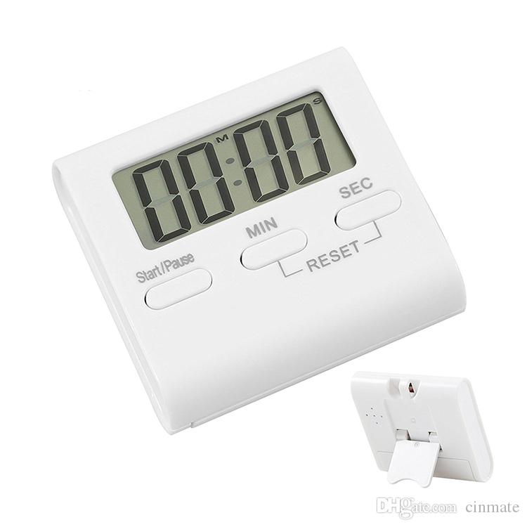 2018 Digital Kitchen Timer Cooking Timer With Loud Clock U0026 Lcd Display  Clock Alarm With Magnet Stand Clip From Cinmate, $1.98 | Dhgate.Com