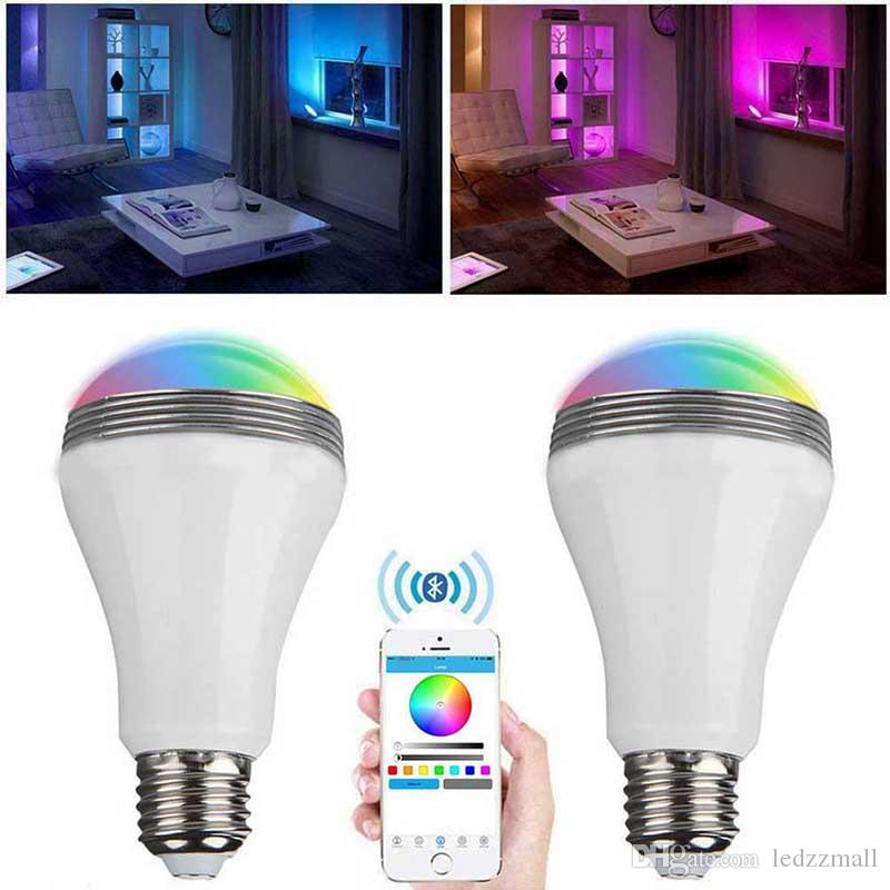 Best Smart Led Light Bulb Wireless Bluetooth Audio Speakers 3w E27 ...