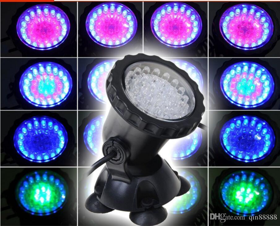 Led akvaryum işık RGB Dalgıç Spot Bahçe Gölet Havuz Sualtı Ampul balık tankı lambası AB İNGILTERE ABD AU Fiş