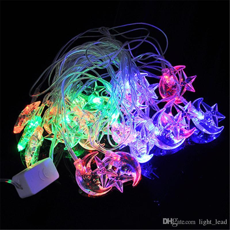 Led Light String Led Fairy string light Cielo completo de estrellas Led Lamps AC110V Para Festival de jardín Luces para árboles de Navidad 4m 20 LED