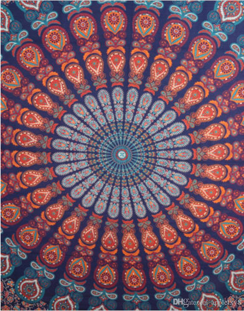 indian queen size bohemian tapestry wall hanging mandala blanket throw hippie bedspread sheepskin throws blankets big blankets for cheap from applefxy8