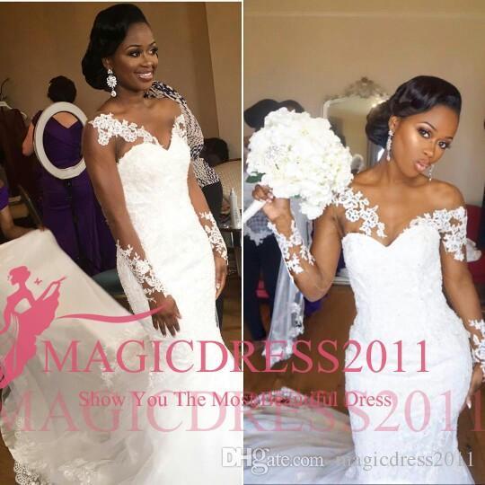 BellaNaija Weddings 2016 Nigeria Wedding Dresses Mermaid