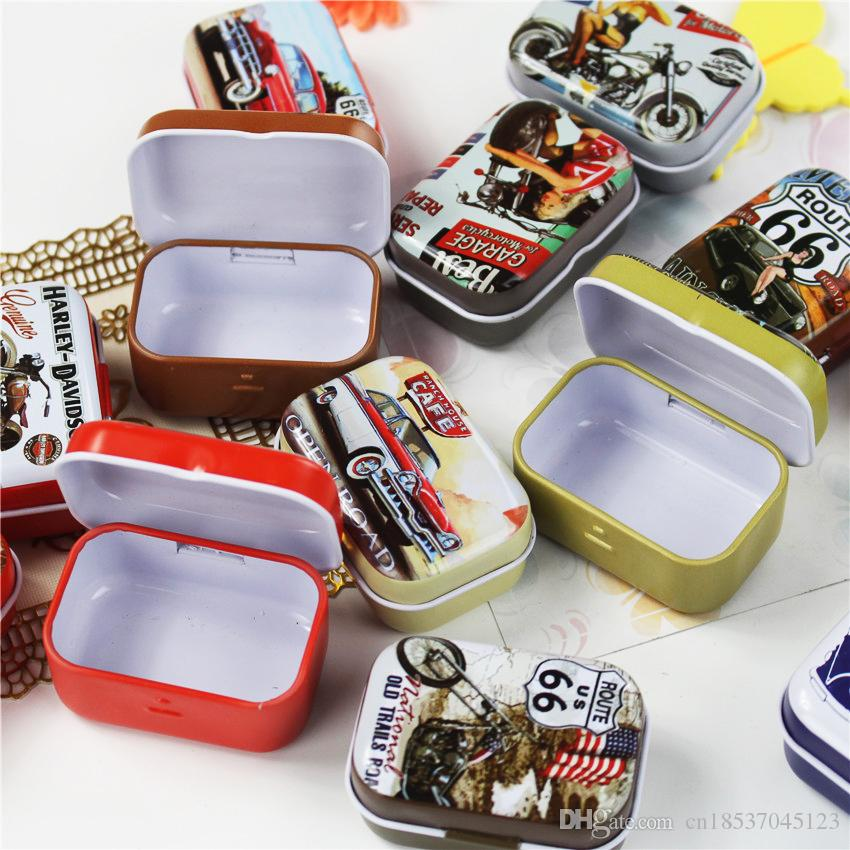 2018 Best For You!! Cool Motorcycle Tin Storage Box Exquiaite Packing Cajas  Plastico Tea Box Jewelry Box Mac Makeup Cosmetic From Cn18537045123, ...