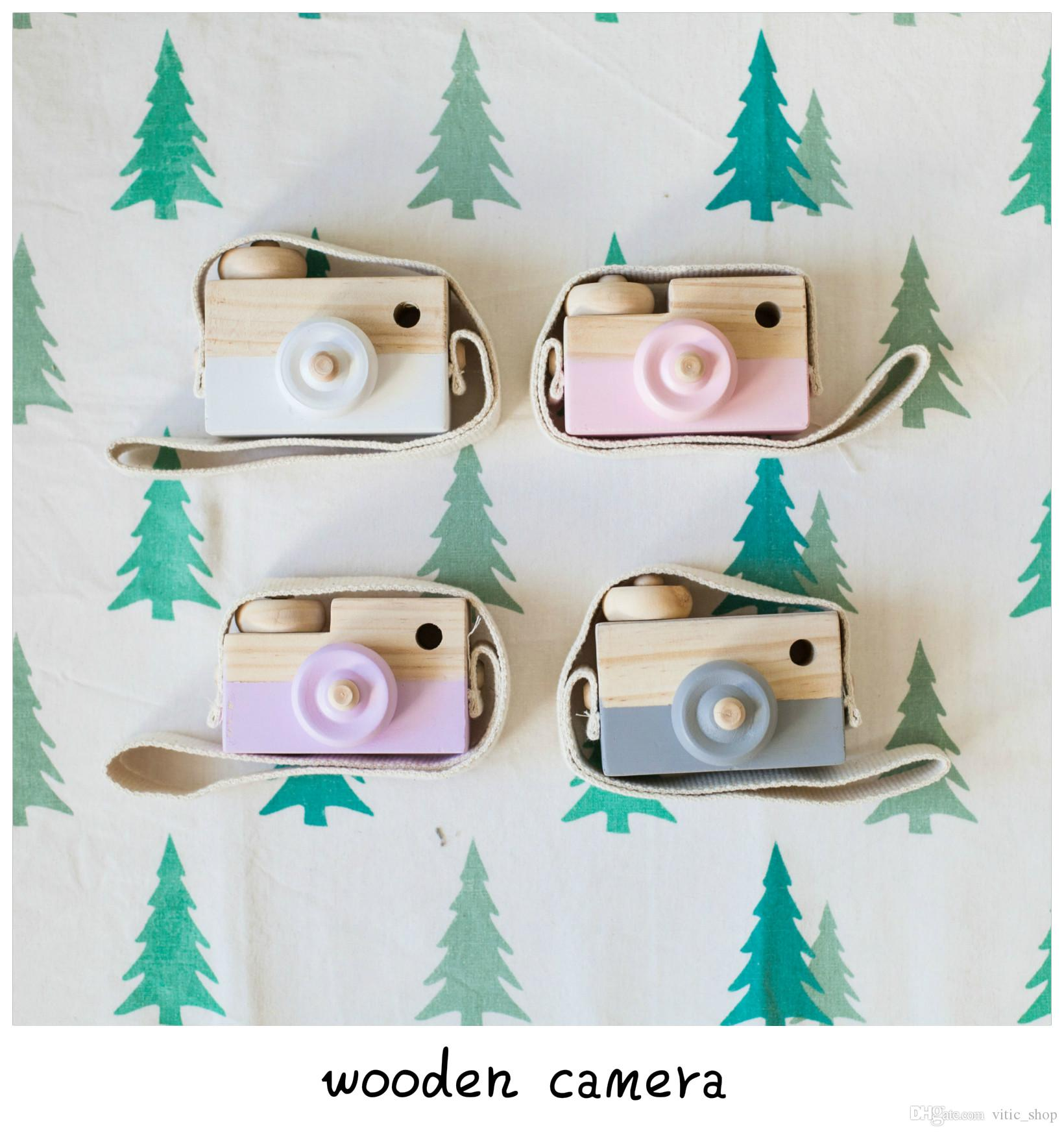 Ins Hot Novelty Toys Childrens Wooden Camera Photography Christmas ...