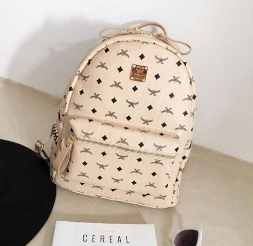 2017 горячая новое прибытие мода женщины школьные сумки горячий панк стиль мужчины рюкзак дизайнер рюкзак искусственная кожа Леди сумки