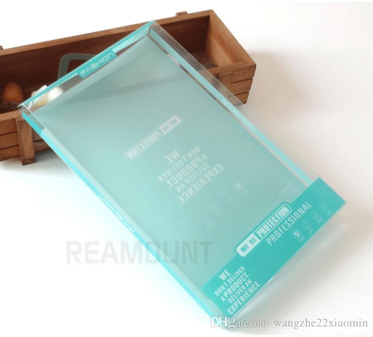 Ipad 2 için perakende Plastik PVC Ambalaj Kutusu 3 4 ipad 7 8 10 için deri Kılıf Kapak 10 inç Şeffaf Ambalaj
