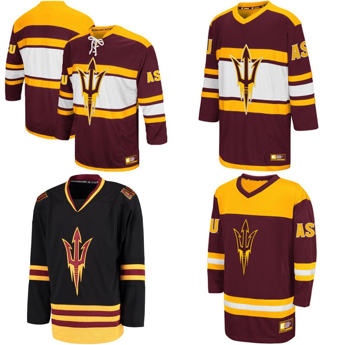 Customize NCAA Arizona State Sun Devils College Jersey Mens Womens ... 8fc612ded