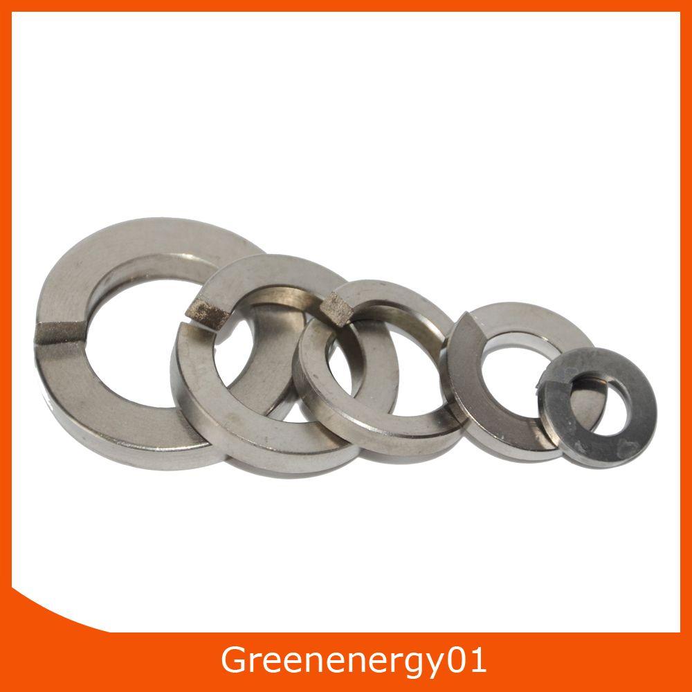 spring washers titanium spring lock washers din127 din7980 titanium grade5 cheap spring washers