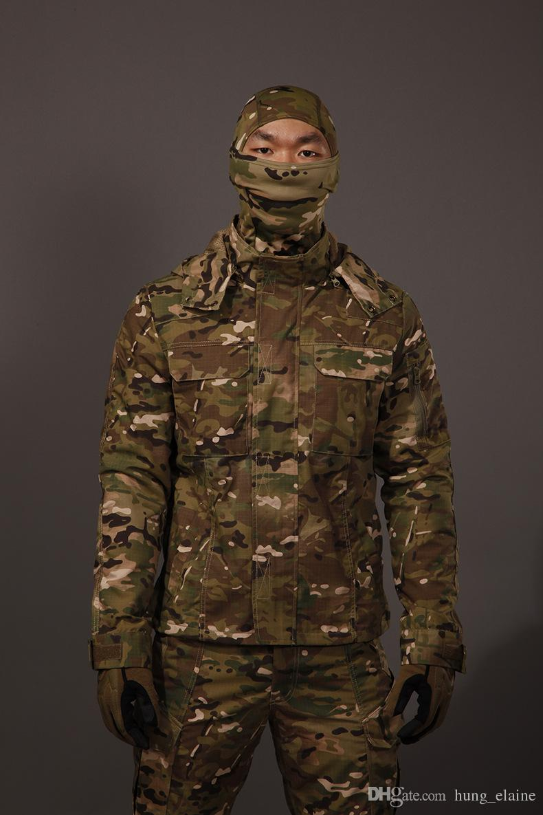 5e521a8239985 2019 2017 High Quality CS Men Outdoor Army Uniform Tactical Camouflage  Sport Hunting Wear Multicam Hunting Sets From Hung_elaine, $116.76    DHgate.Com