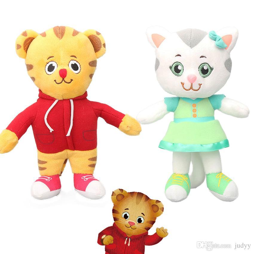 20cm Katerina Kittycat Daniel Tiger Plush Toys Daniel Tiger S