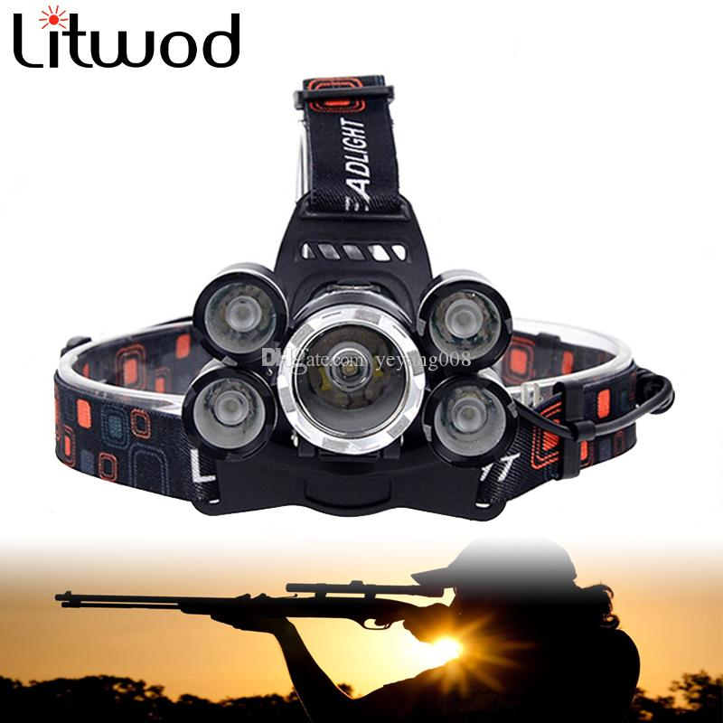 In 30w Led Headlamp White Headlight Camping Fishing Hiking Hunting Riding Head Light Fog Lamp Flashlight Torch Excellent Quality