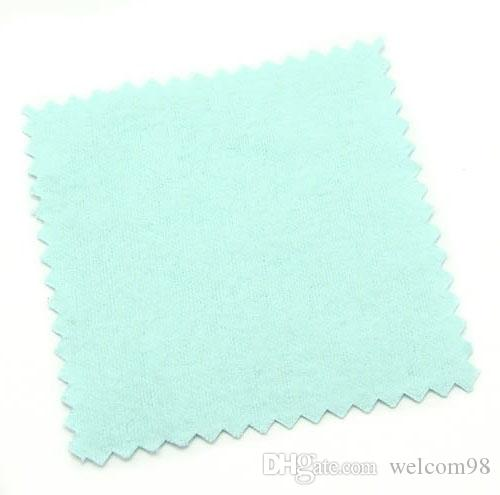 Silver Cleaning Polishing Cloth For Cleaners Polish Craft Fashion Jewelry Gift 8x8cm CL1