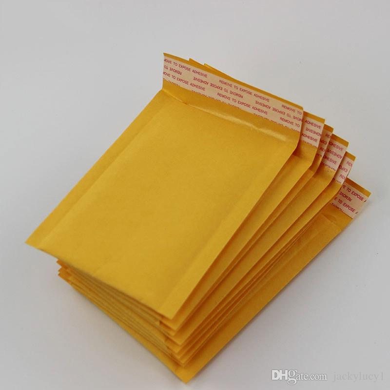 التي العديد من الأحجام الصفراء أكياس فقاعة فقاعة بريدية مغلف بريدية مبطن مغلفات تغليف أكياس الشحن