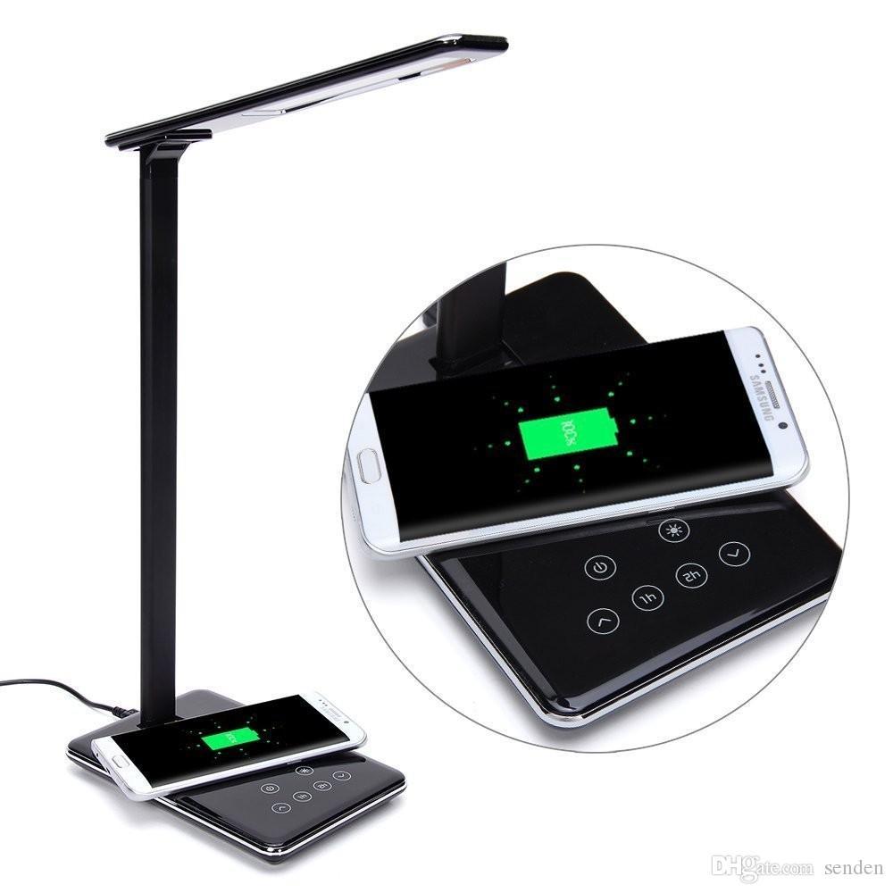 Chargeur Pour Smartphone Lampe De Table Pliante A Chaud Plaque De