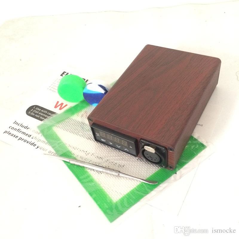 Nouvelle arrivée portable ENAIL DNAIL appareil de chauffage en titane ongles D-ongles en quartz ongles sans dôme 110 220 V avec tampons en silicone pour herbes sèches