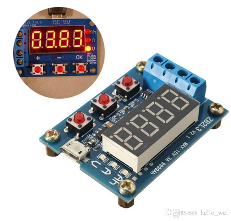 1.2-12V battery capacity tester external load discharge capacity test 18650 New Design Battery Tester Tools