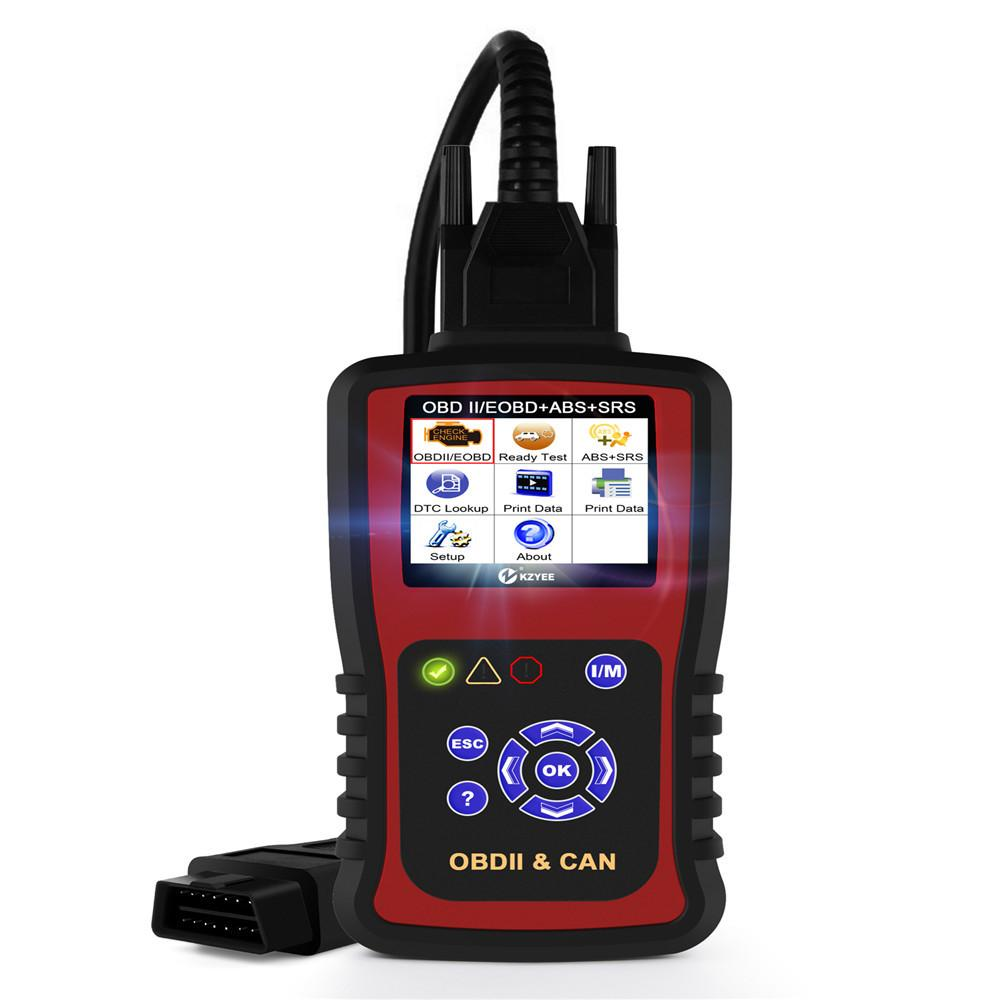 2018 Kzyee Kc501 Abs Srs Reset Can Obdii Diagnostic Scan Tool Kc501 Turn Off  Check Engine Light Clears Codes Reset Monitors Scanner From Ruxian1, ...