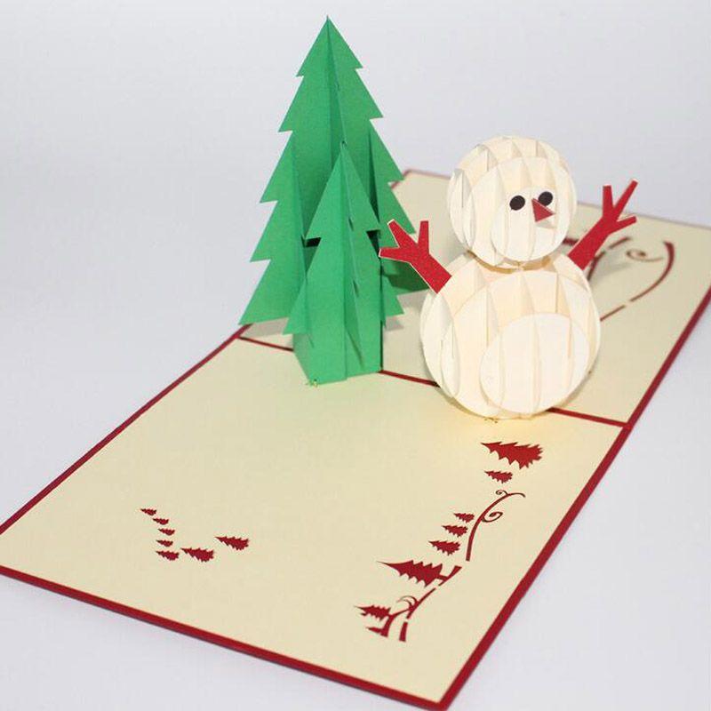 2017 new christmas greeting card three dimensional snowman and tree 2017 new christmas greeting card three dimensional snowman and tree blessing card greeting card manufacturers wholesale card greetings card happy birthday m4hsunfo