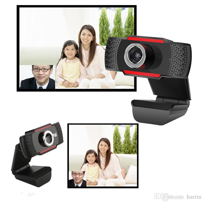 Electronic Computer Networking Accessories USB 2.0 Black HD Webcams Camera Rotatable Built-in 10m Sound-absorbing Microphone 2945
