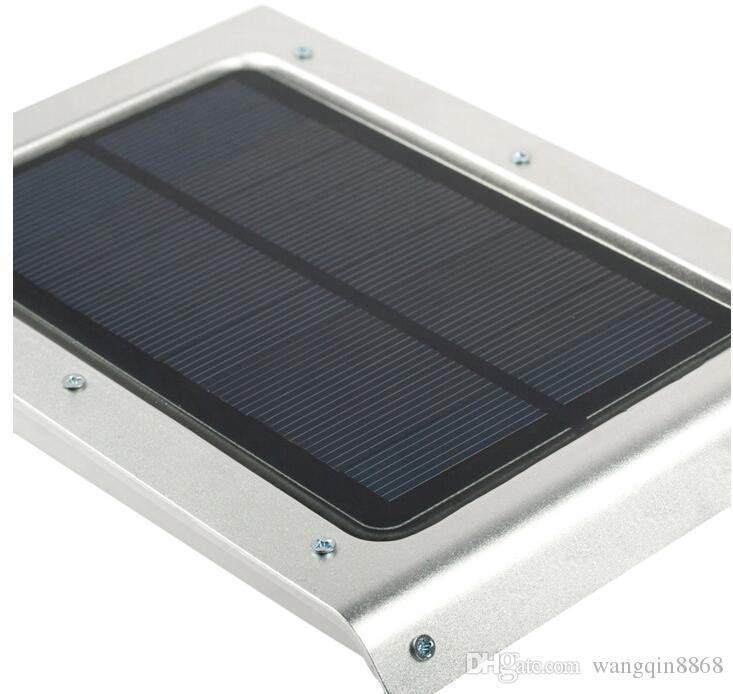 46 LED 태양 광 가로등 PIR 모션 센서 램프 정원 보안 램프 야외 거리 방수 벽 조명
