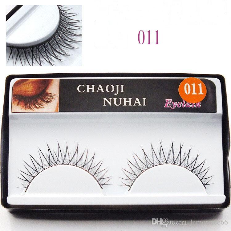 Wholesale Fake Eyelashes Natural Long Thick False Eyelashes Hand